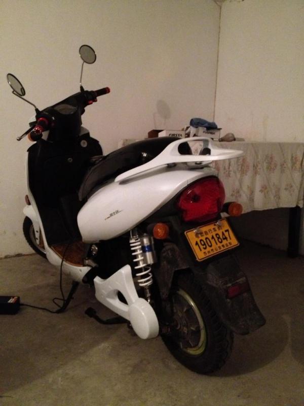 電動バイク改造後