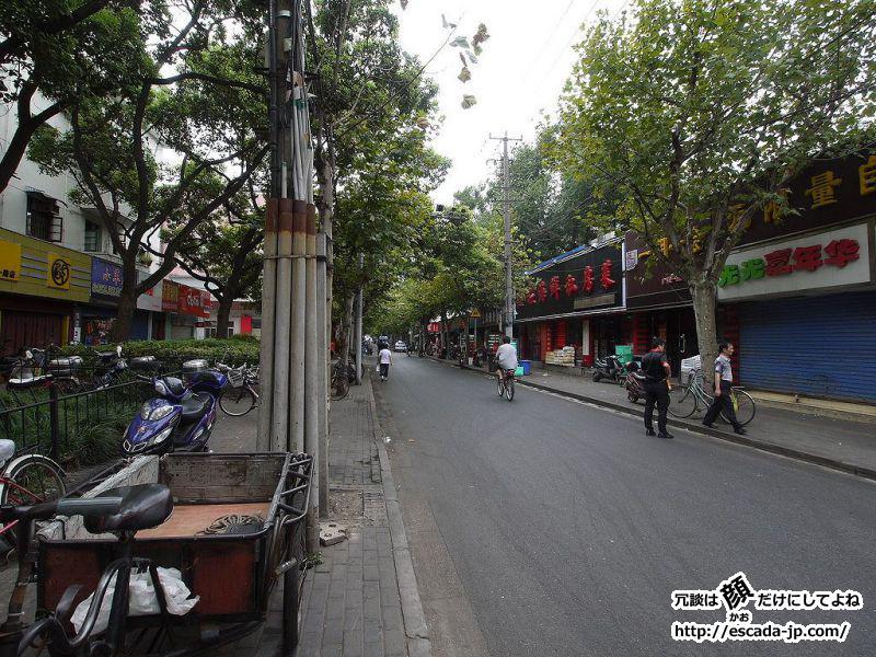 中秋節は母校訪問もかねて上海へ行ってきました02