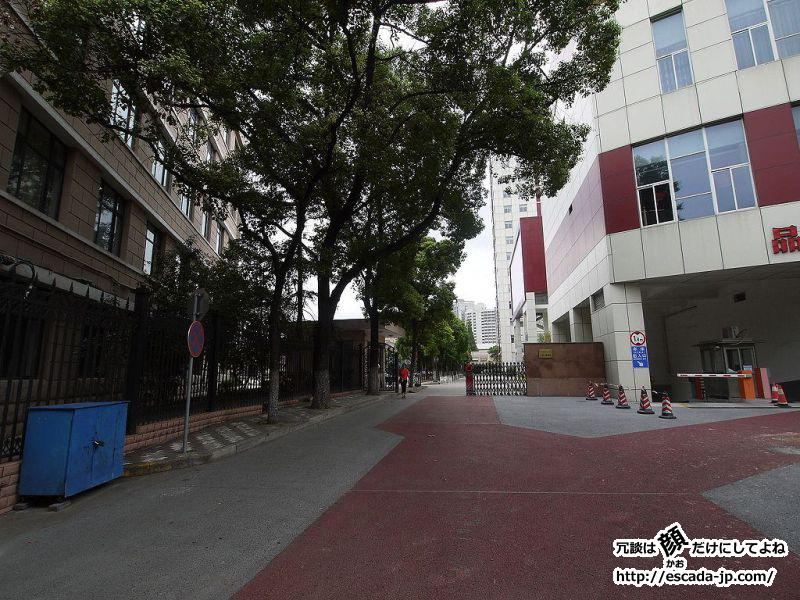 中秋節は母校訪問もかねて上海へ行ってきました03