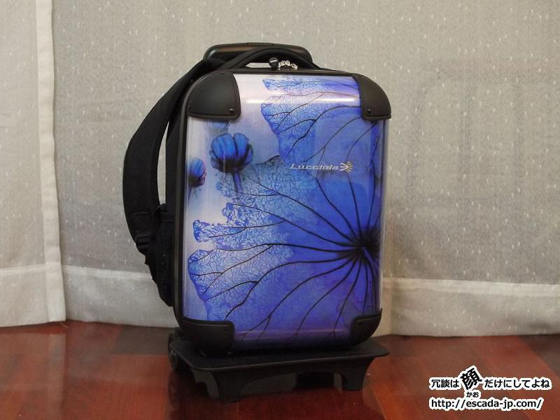 中国でlucciolaというブランドの旅行鞄を購入してみた01
