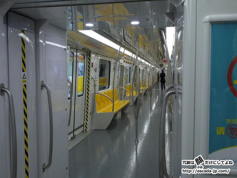 2013年末に蘇州で地下鉄2号線が開通しました03