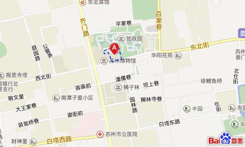 忠王府地図