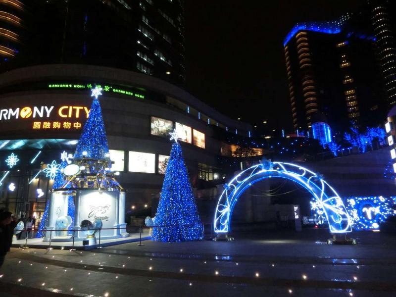 蘇州のクリスマス飾り付け20141219-01