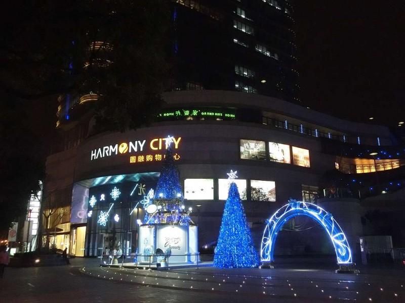 蘇州のクリスマス飾り付け20141219-04