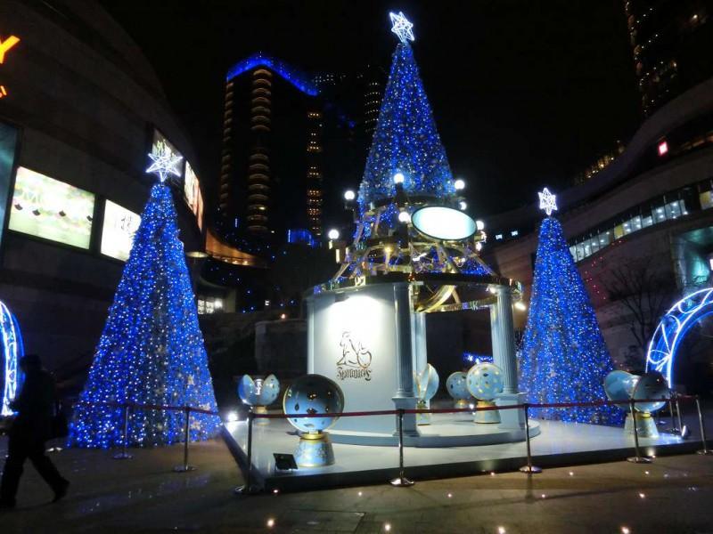 蘇州のクリスマス飾り付け20141219-02