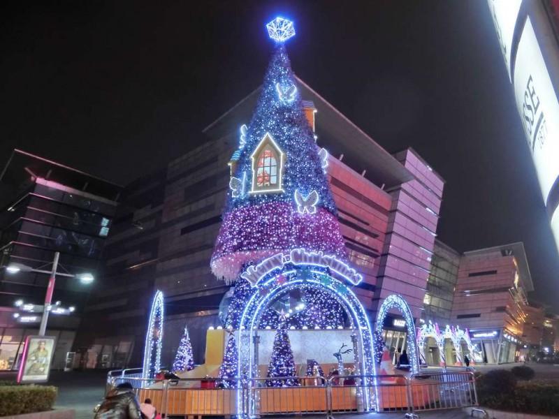 蘇州のクリスマス飾り付け20141219-05