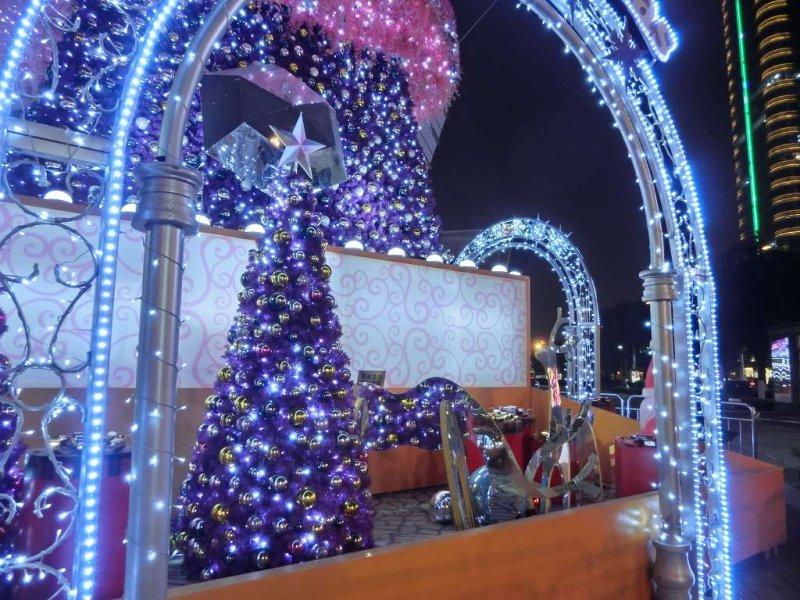 蘇州のクリスマス飾り付け20141219-06