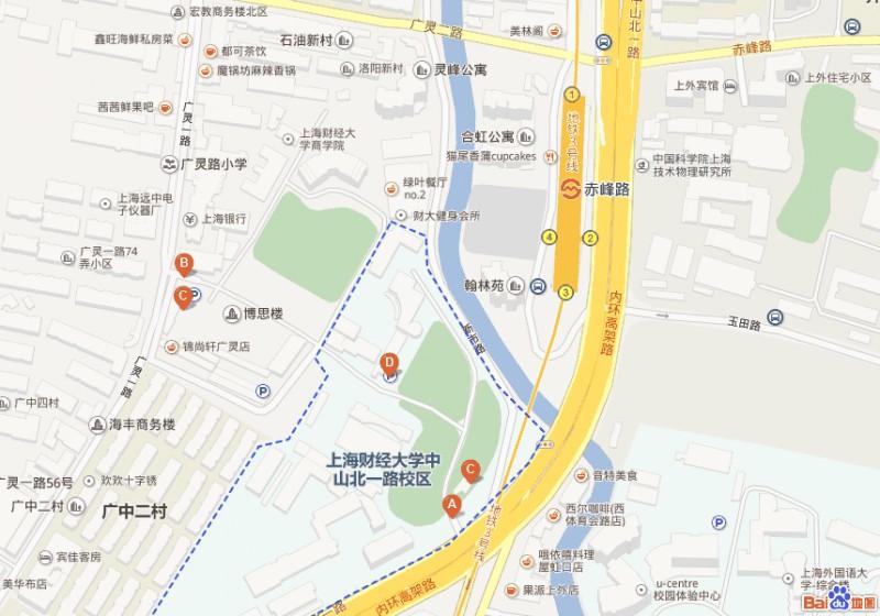 上海財経大学MAP