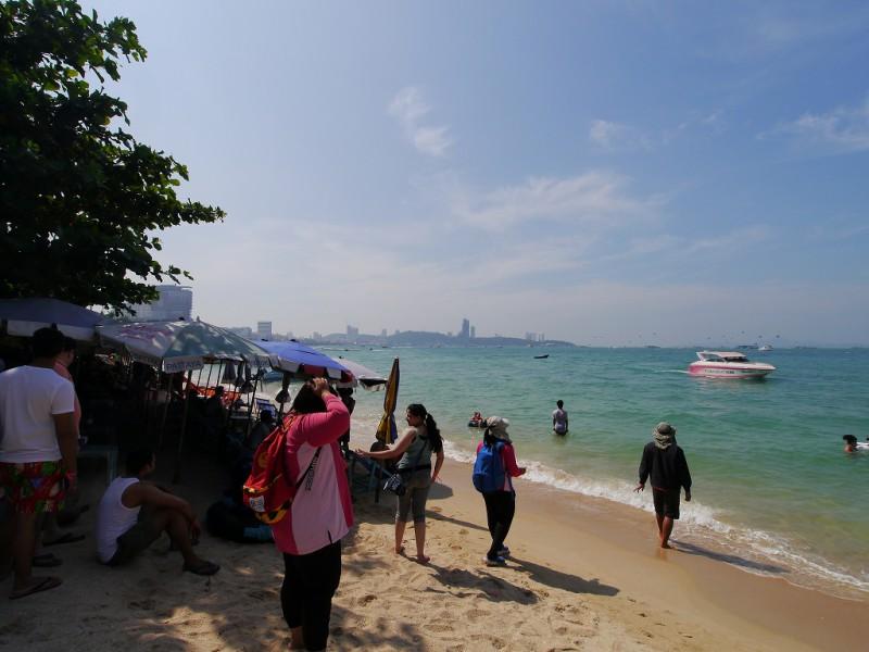 パタヤのビーチ1