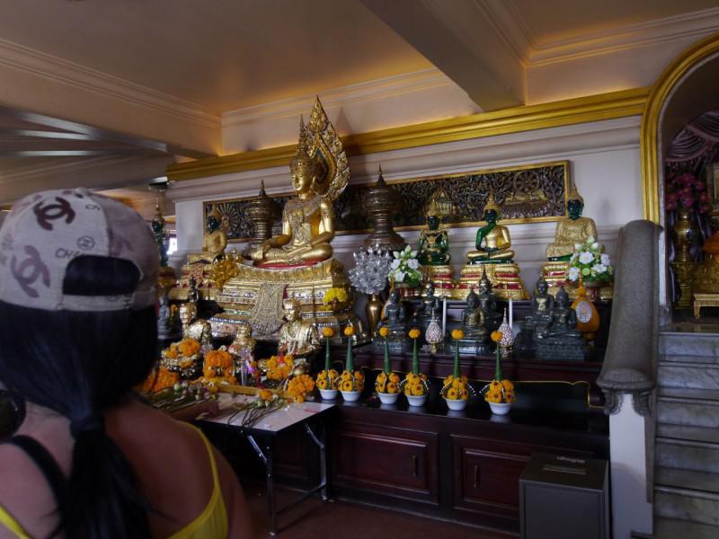 ワット・サケット ヒスイの仏像