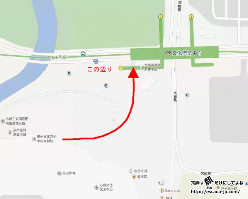 文化芸術中心map