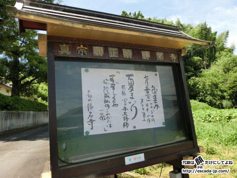 勝名寺へあじさい鑑賞04