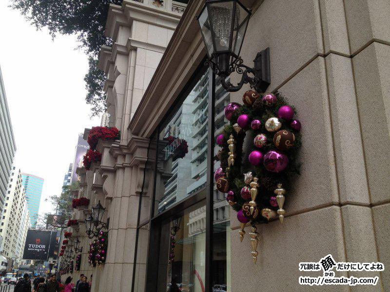 廣東路のクリスマス飾り付け
