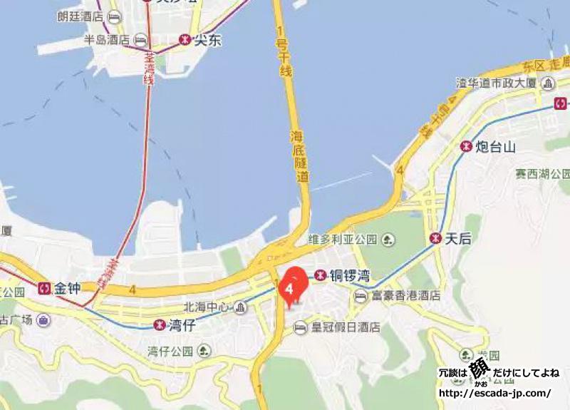 時代廣場(タイムズスクエア)地図