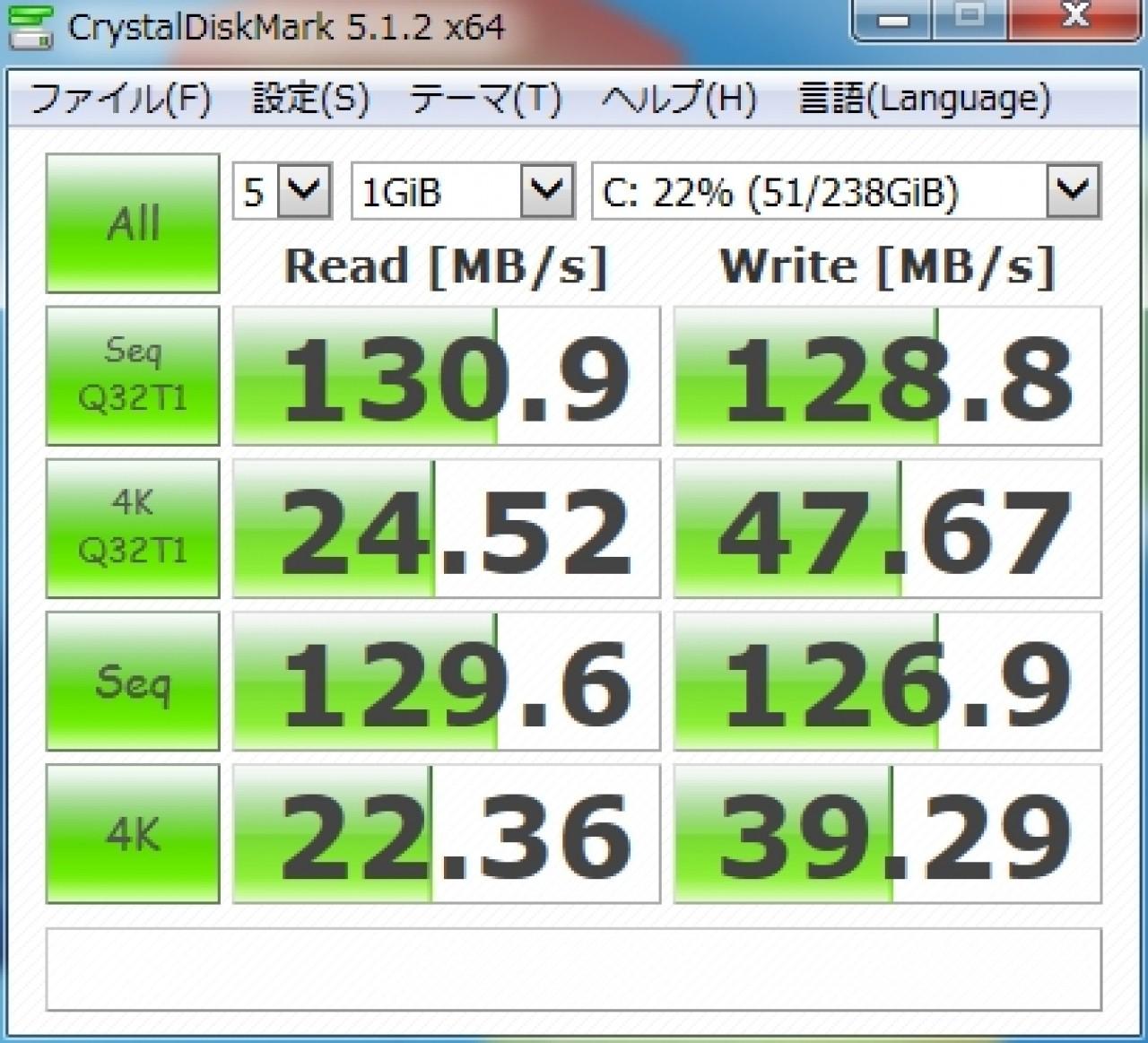 CrystalDiskMark 5