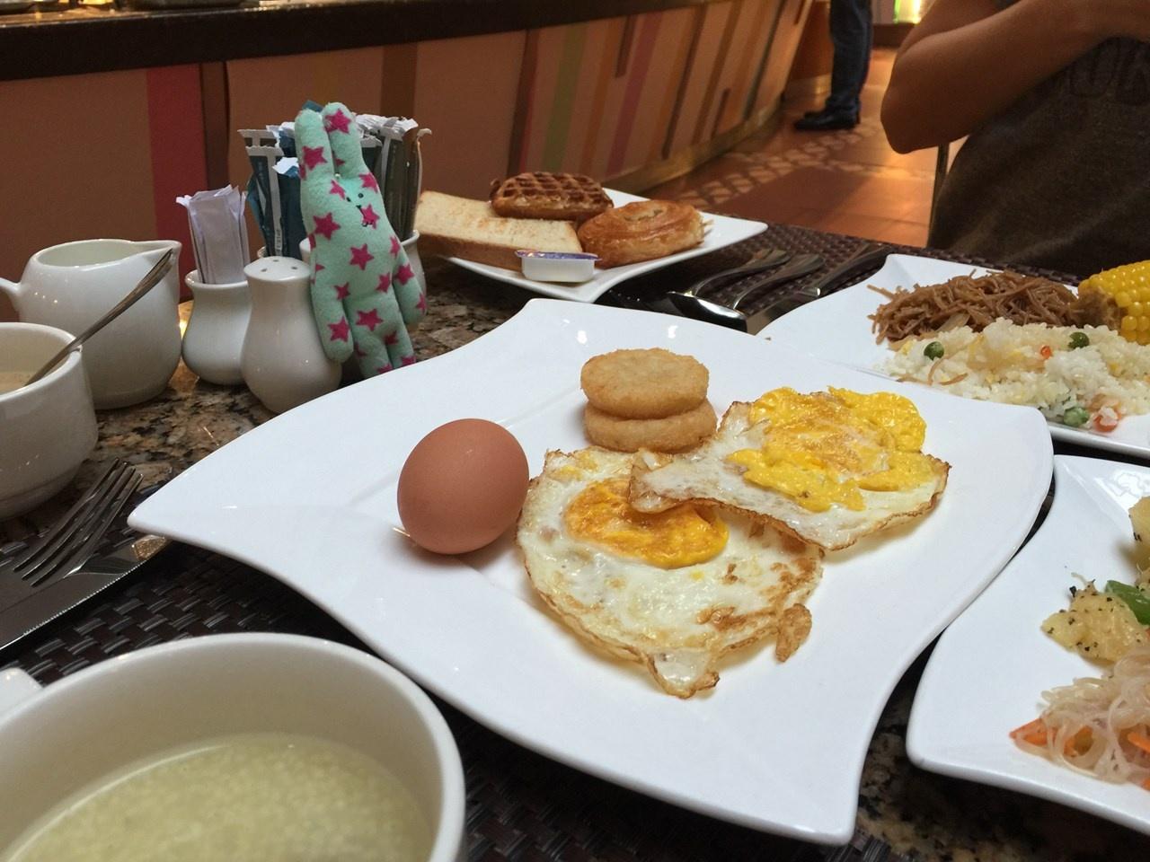 北京のホテル朝食