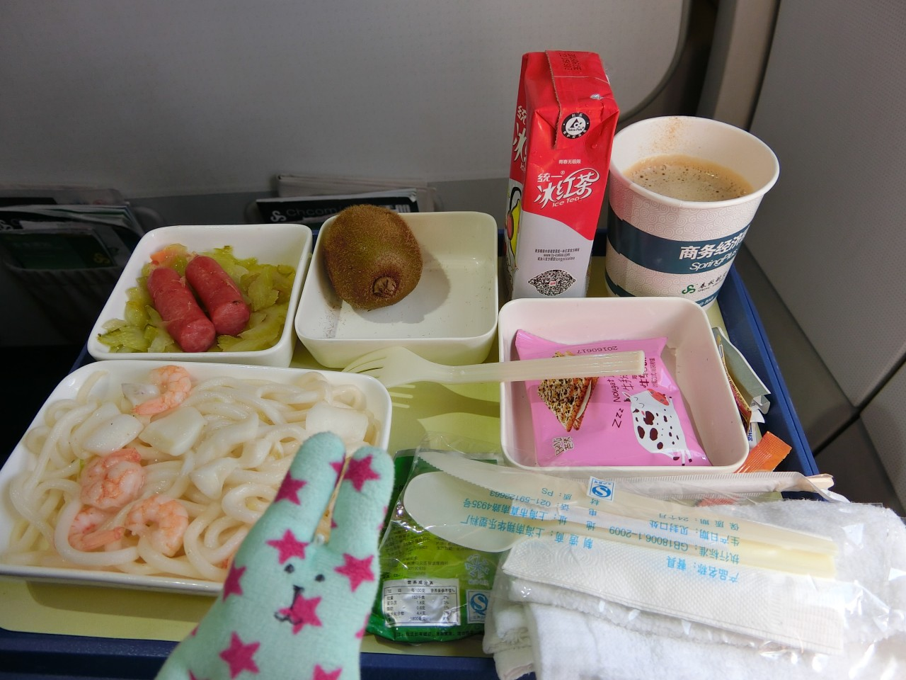 春秋航空機内食