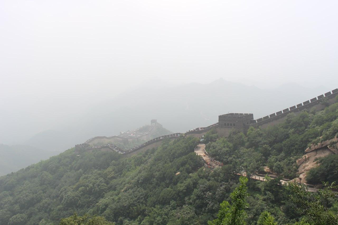 万里の長城からの眺め