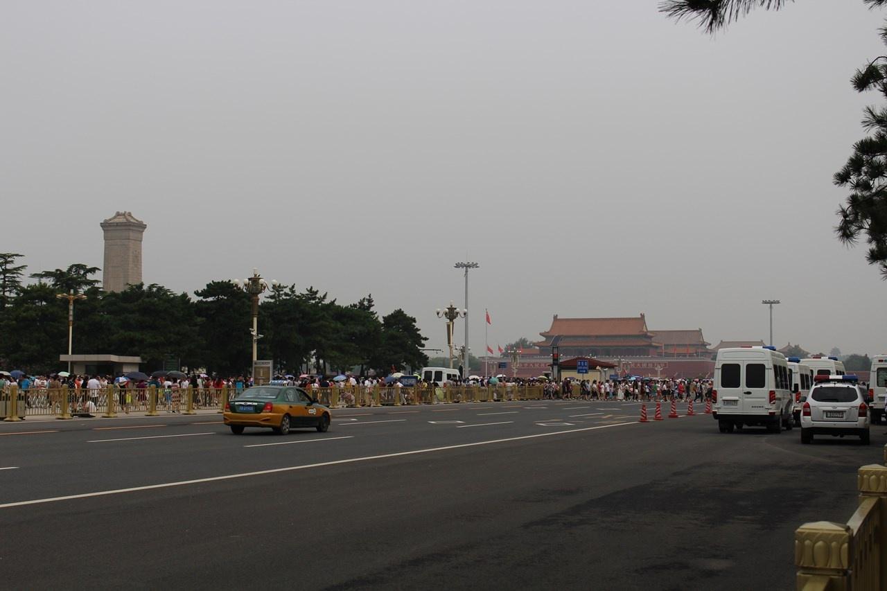 天安門広場の警備
