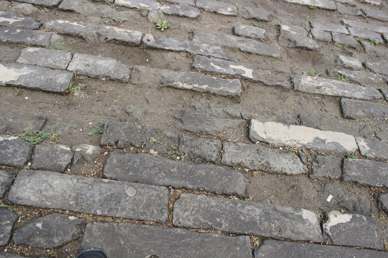 紫禁城の地面