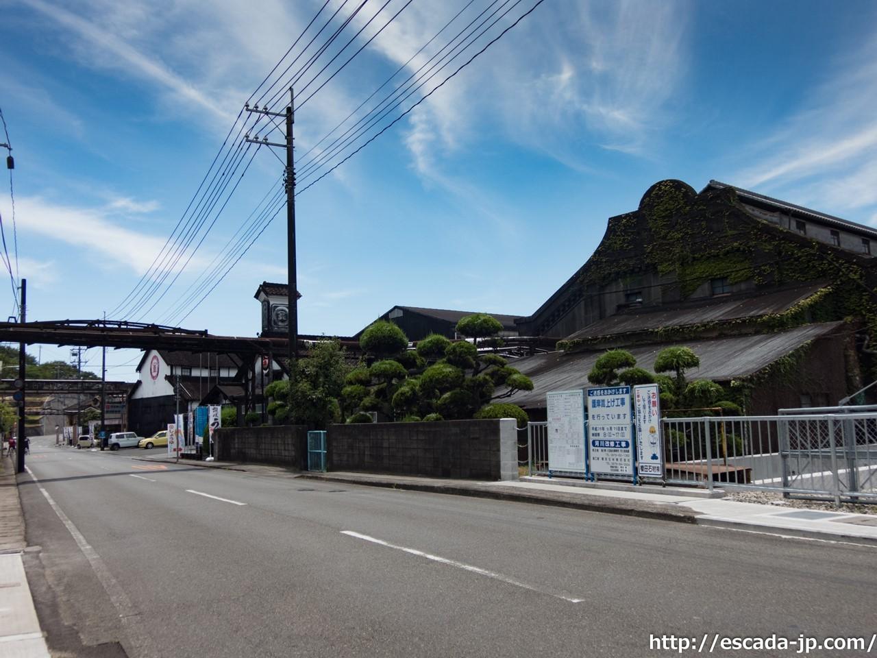 マルキン醤油工場